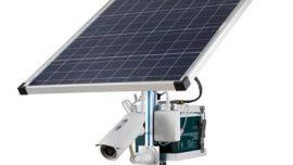 Güneş Enerjisi ve Rüzgar Tribünü ile Çalışan Kablosuz Güvenlik Sistemleri